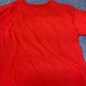 Red t shirt worn once